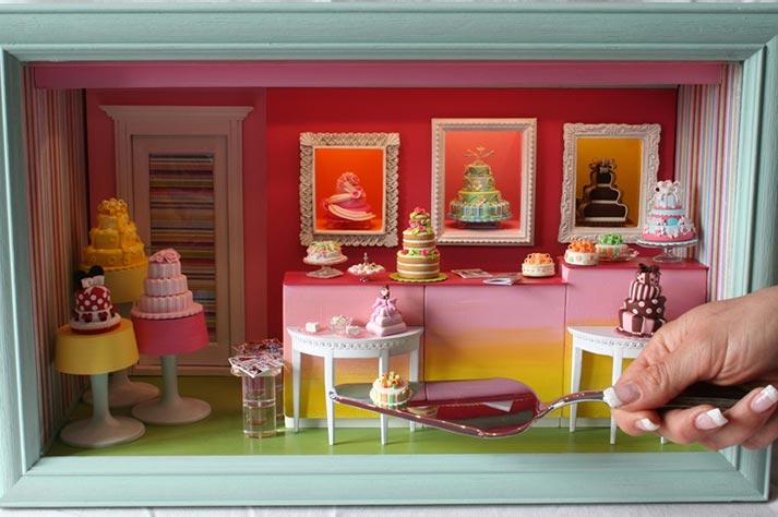 Micro Torta italia in miniatura