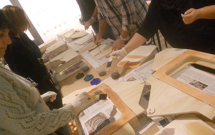 arte per bambini e adulti parco montagnola di bologna