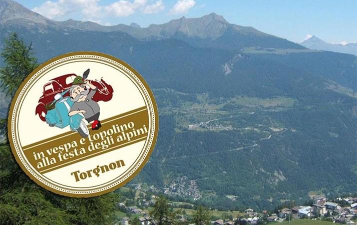 festa alpini 2014 a torgnon e raduno delle vespe e delle topolino
