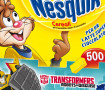 promozione transformer nesquik cookie crisp