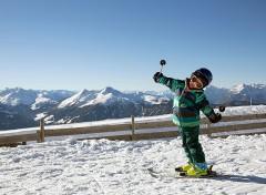 sciare con i bambini a natale ad alpbachtal