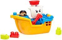 mega bloks Nave dei pirati giocattoli