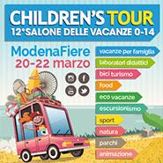 childrens tour 2015 la fiera di modena sulle vacanze dei bambini 0-14 anni