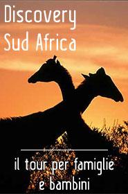 Viaggio Tour in Sud Africa per famiglie con bambini