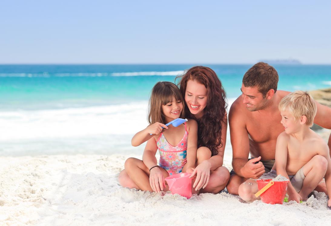 famiglia al mare settembre 2014