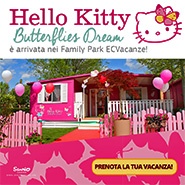 camping e villaggi per famiglie ecvacanze con case hello kitty