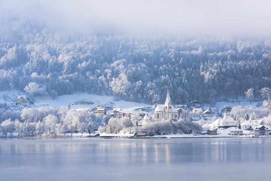 Maria Wörth in Inverno