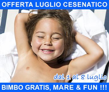 BiondiHotels Cesenatico - offerta Luglio Cesenatico
