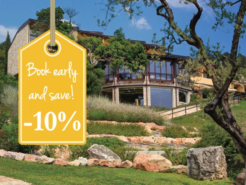 Prenota prima e risparmia il 10%