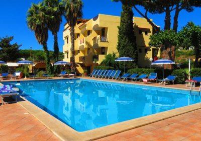 hotel con piscina ischia