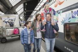 gite d'autunno in treno con i bambini
