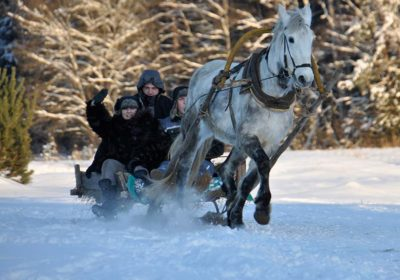in viaggio con i bambini in inverno in Lituania