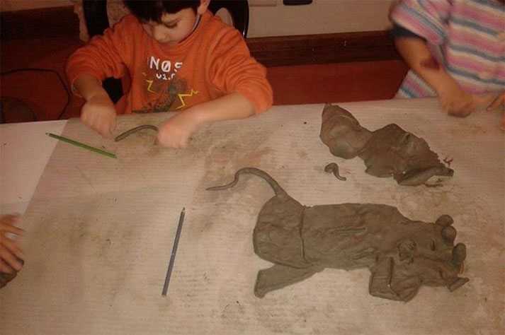 bambini al museo archeologico salerno
