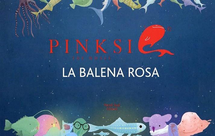 Pinksie the whale la balena rosa