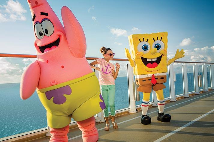 Crociere NORWEGIAN con SpongeBob e attività per bambini