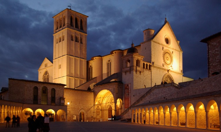Assisi_San_Francesco_BW_6