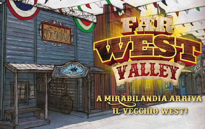 novità 2016 far west valley mirabilandia