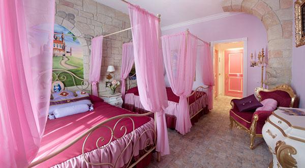 Family hotel le pi originali camere a tema nel mondo - Camere da principesse ...