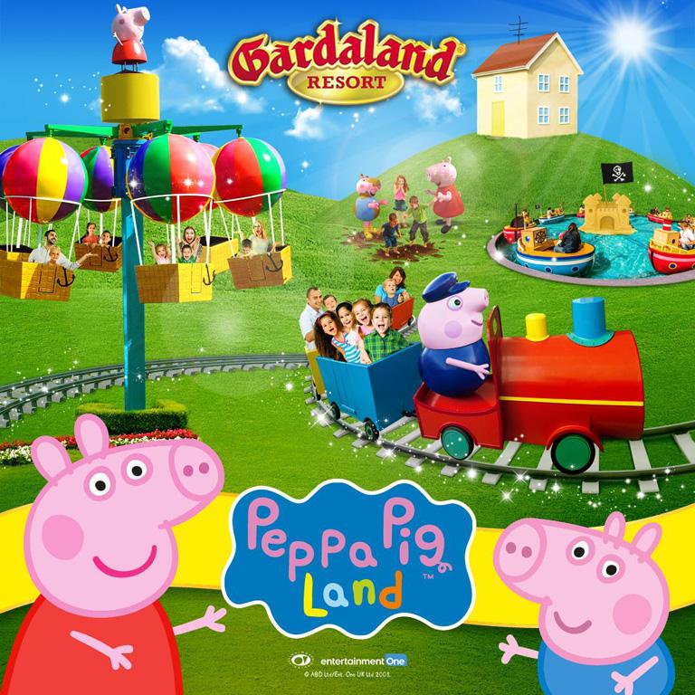Il Mondo Di Peppa Pig E Tutte Le Novità 2018 Di Gardaland Bimbo In