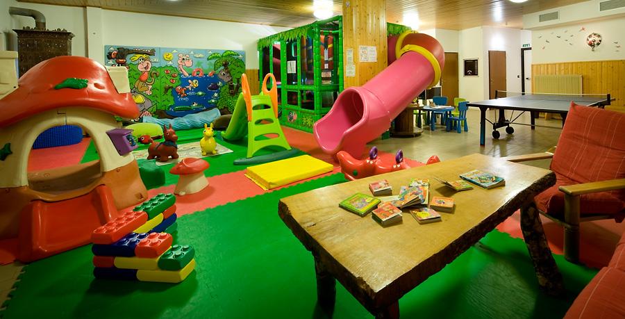 Sala Giochi Per Bambini : Family hotel adamello family hotel in val di sole al passo del tonale