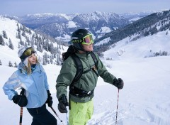 sulla neve con i bambini in austria