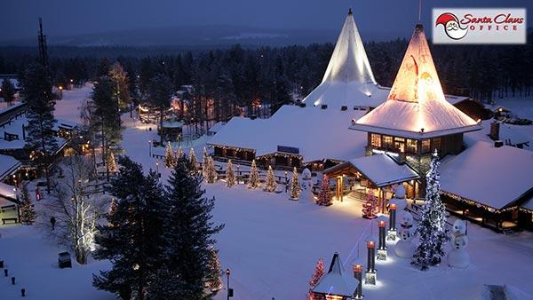 Polo Nord Di Babbo Natale.Il Villaggio Di Babbo Natale A Rovaniemi Lapponia Finlandese