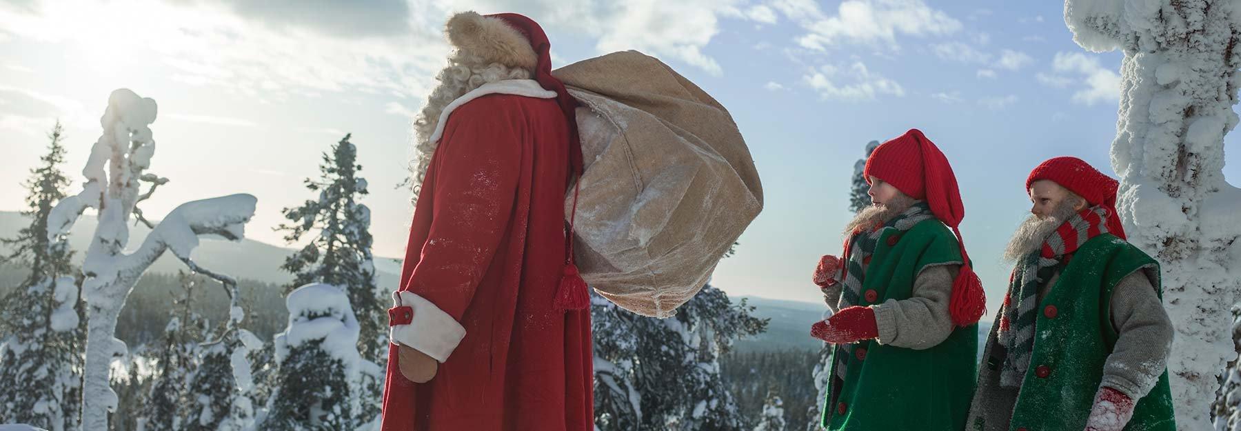 Dove E Babbo Natale.Bambini Accorrete C E Babbo Natale I Villaggi In Italia E Nel