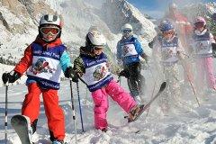 sciare con i bambini in val gardena