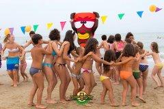 hotel con giochi in spiaggia per bambini