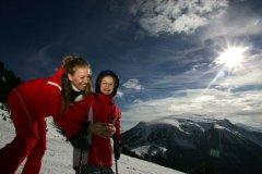 piste da sci obereggen