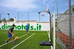 hotel con campo da calcio per bambini ad ischia