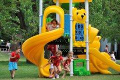 i giochi per i bambini a spiaggia romea
