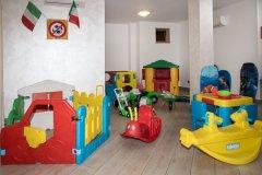 Residence con servizi per bambini a pietra ligure
