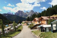 camping con servizi per famiglie in val di fassa