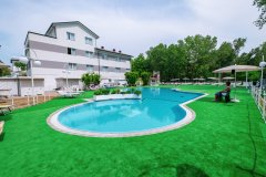 color  green family hotel cesenatico