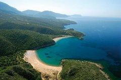 spiaggi di marathou per bambini in grecia