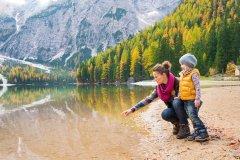 wellness per bambini e genitori in alto adige