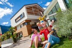residence con attività per famiglie a merano