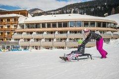 sciare con i bambini sulle dolomiti di sesto