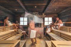 Cavallino Bianco Sauna hotel per famiglie