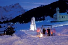 sciare a trafoi con i bambini