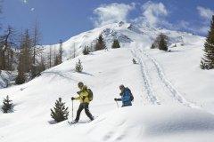 sciare a trafoi con la famiglia