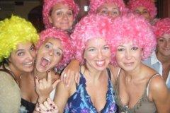 ragazze in rosa