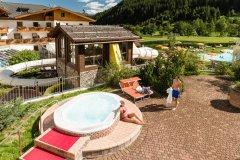 alberghi con wellness e piscine per bambini in alto adige