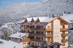 hotel seggiovia inverno folgaria trentino