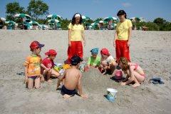 miniclub in spiaggia hotel spiaggia romea