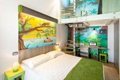 camere per famiglie family hotels rimini