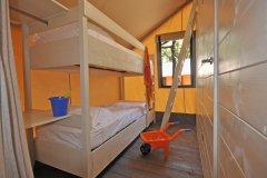 Paradu Tuscany EcoResort Lodge Tent Glamping Bunk Beds room