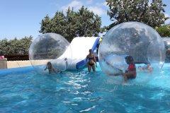 piscina per bambini con water balls ad ischia