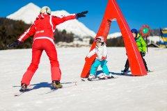 sciare con i bambini in val pusteria